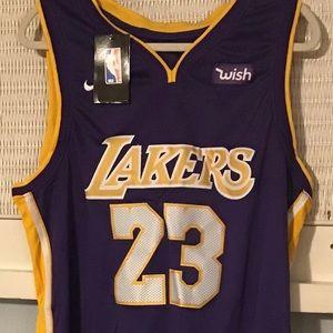 Nike LeBron James Lakers Jersey, Sz. Large NWT